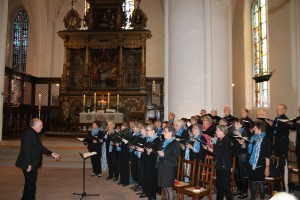 Facett giver koncert i Marien Kirche, Flensborg